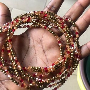 New brand African beads to wear on ur waists.